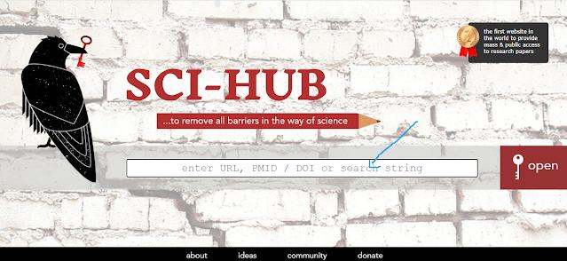 cara download jurnal international dengan sci-hub