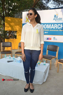 Actress Rakul Preet Singh at Endometriosis Awareness Walk at Apollo Cradle  0115.jpg