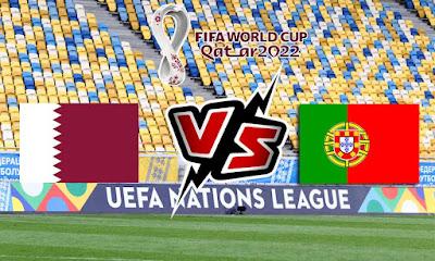 قطر و البرتغال بث مباشر