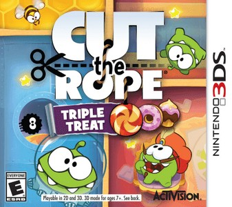 Rom Cut The Rope Triple Treat 3DS