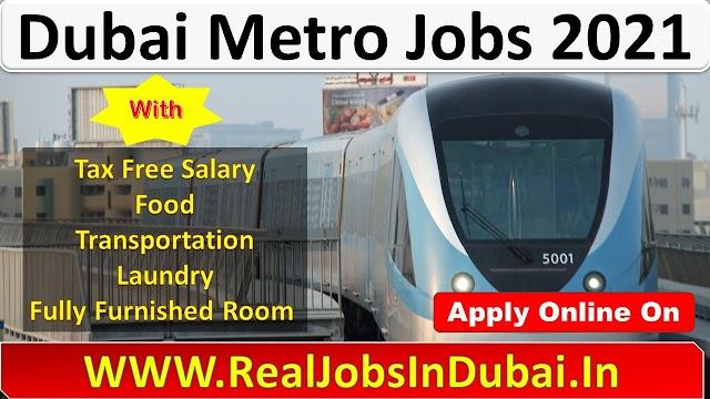 Dubai Metro Jobs 2021