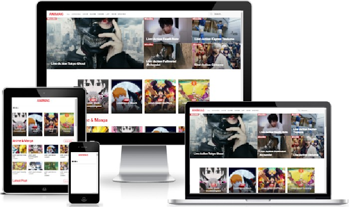 Download Animag Blogger Templates for Anime Niche / Wallpaper site