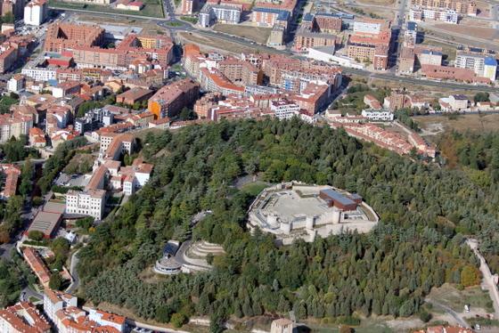 imagen_burgos_castillo_cerro_san_miguel_vistas_aerea