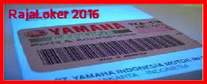 Lowongan Kerja Operator Produksi PT Yamaha Motor Parts Manufacturing Indonesia - Karawang Terbaru 2016