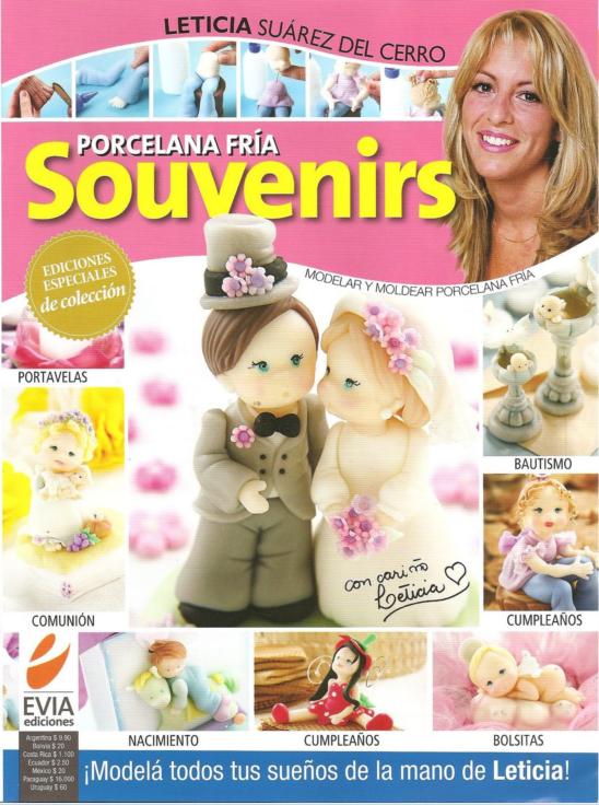 Especial de porcelana fria Souvenirs, Leticia Suarez del Cerro