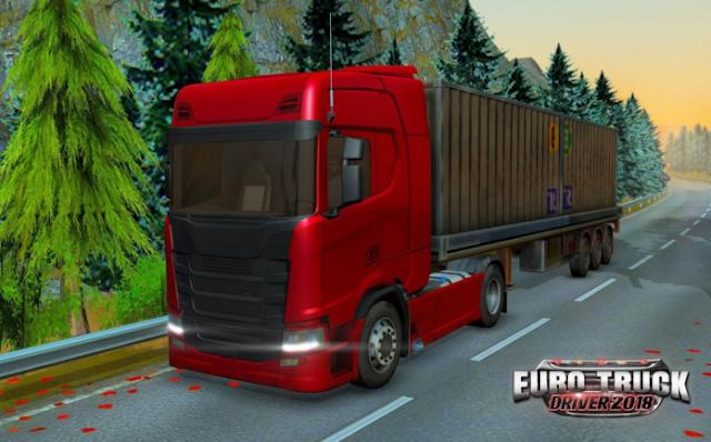 Baixar - Euro Truck Driver - 2018 v1.1.0 Apk Mod [Mod Money]