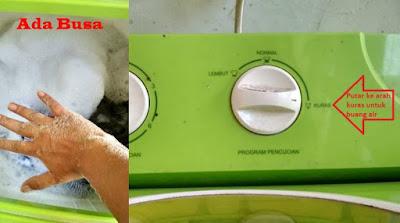 Cara Menggunakan Mesin Cuci Lengkap Disertai Gambar