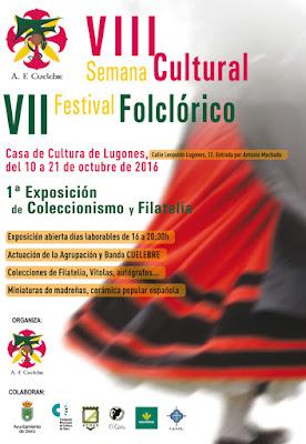 Cartel del matasellos A.F. Cuélebre en Lugones