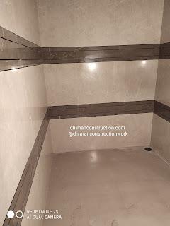 tile design for bathrooms