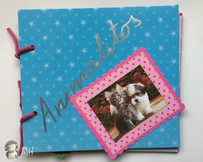 Album scrapbook niñas