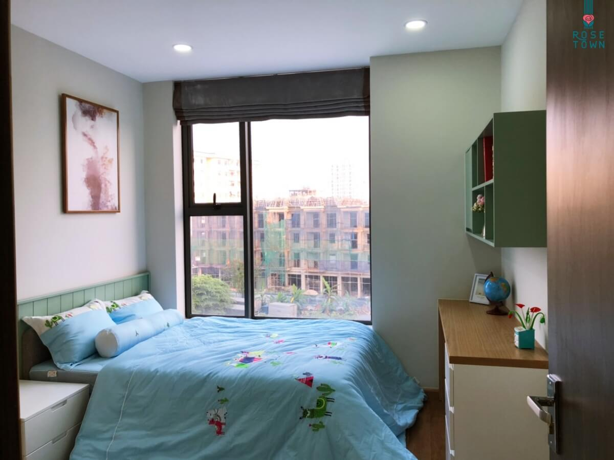 Mẫu phòng ngủ chung cư Rose Town