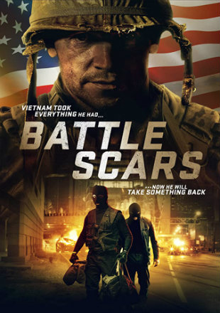 Battle Scars 2020 HDRip 720p Dual Audio In Hindi English