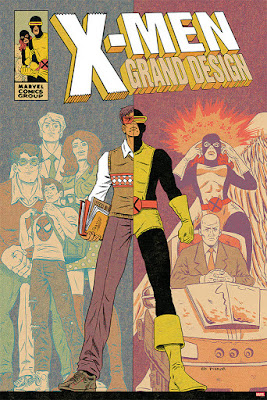 X-Men: Grand Design Screen Print by Ed Piskor x Mondo x Marvel