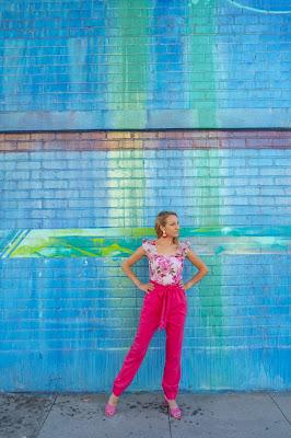 Santa Monica CA murals colorful