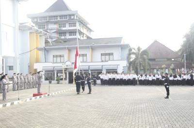 UBL Gelar Upacara Peringatan HUT Kemerdekaan RI ke-72 Dengan Khidmat
