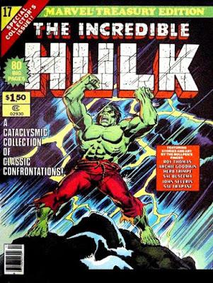 Marvel Treasury Edition #17, the Incredible Hulk