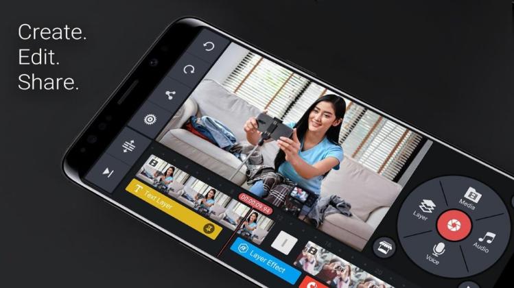 ملخص حول KineMaster - افضل محرر الفيديو لنظام Android