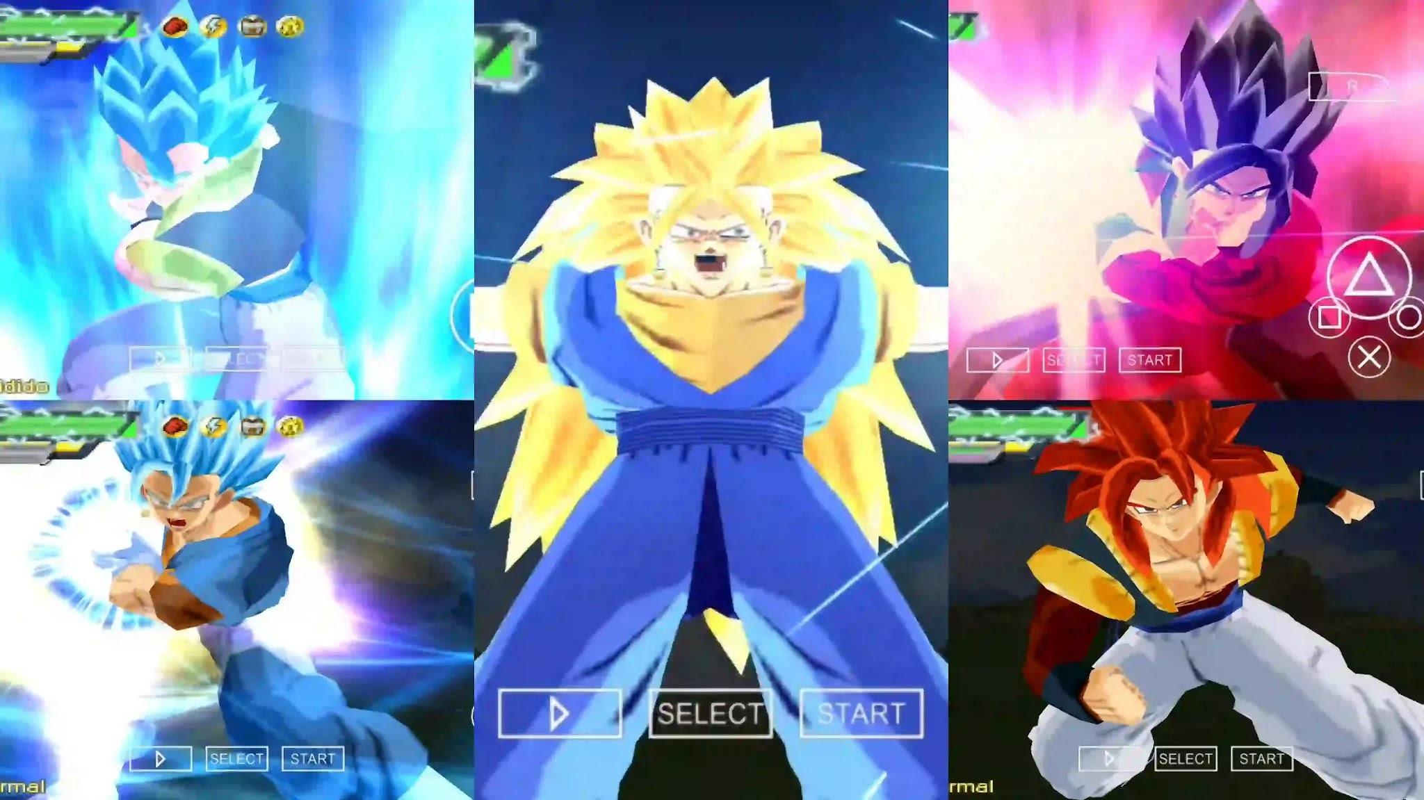 Dragon Ball Super Gogeta and Vegito