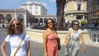 Marcelina Reis1 - Visita guiada aos Museus Vaticanos, Capela Sistina e Basilica de S. Pedro com guia particular