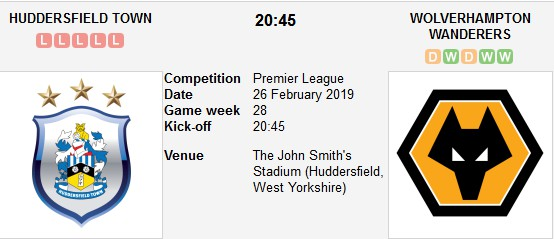 huddersfield vs wolverhampton live