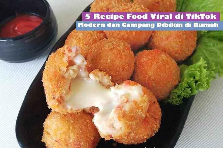 5 Recipe Food Viral di TikTok, Modern dan Gampang Dibikin di Rumah