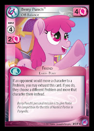 My Little Pony Berry Punch, Off-Balance Seaquestria and Beyond CCG Card