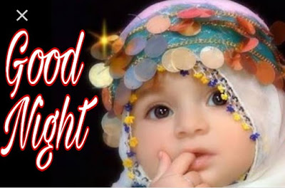 cute baby good night image pics photo download and share