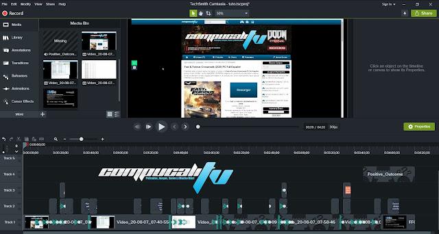 TecnSmith Camtasia Studio Versión Full