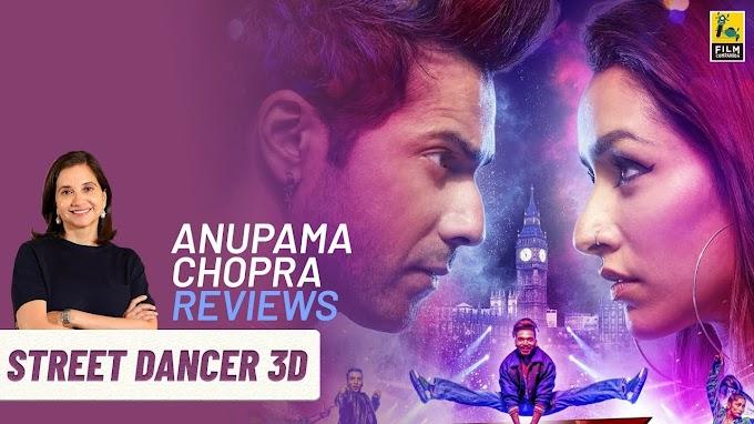Street Dancer 3D | Bollywood Movie Review by Anupama Chopra | Varun Dhawan | Varun Dhawan