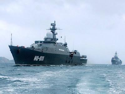 Nga sẵn sàng lắp tên lửa hành trình cho chiến hạm Việt Nam
