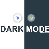 Cara Membuat Dark Mode Keren Di Semua Halaman Web Blogger