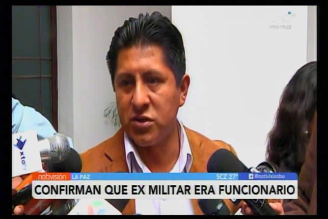 Revelan que diputado masista Julio Huaraya contrató al exmilitar sentenciado por violación