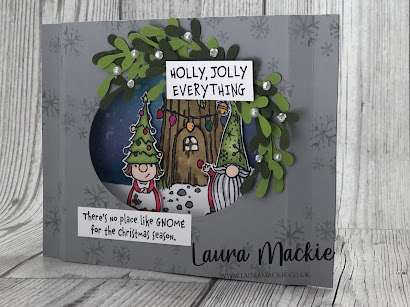 Stampin' Up! Gnome for the holidays