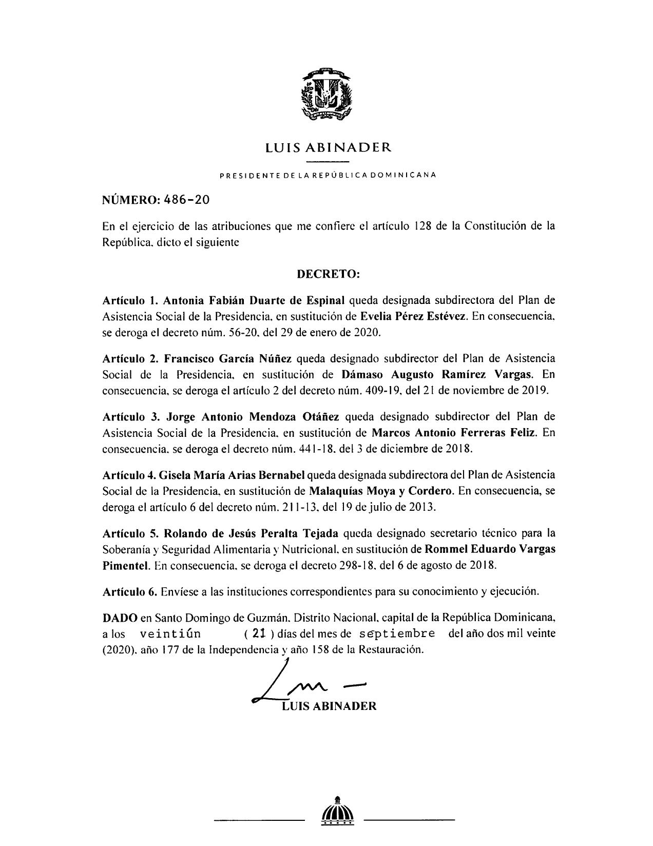 decreto 486-20
