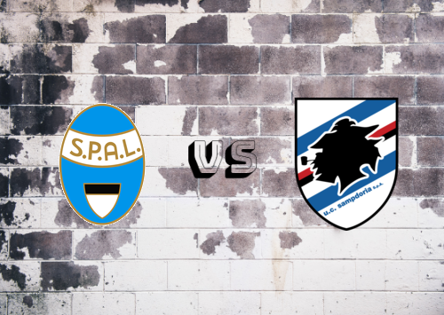 SPAL vs Sampdoria  Resumen