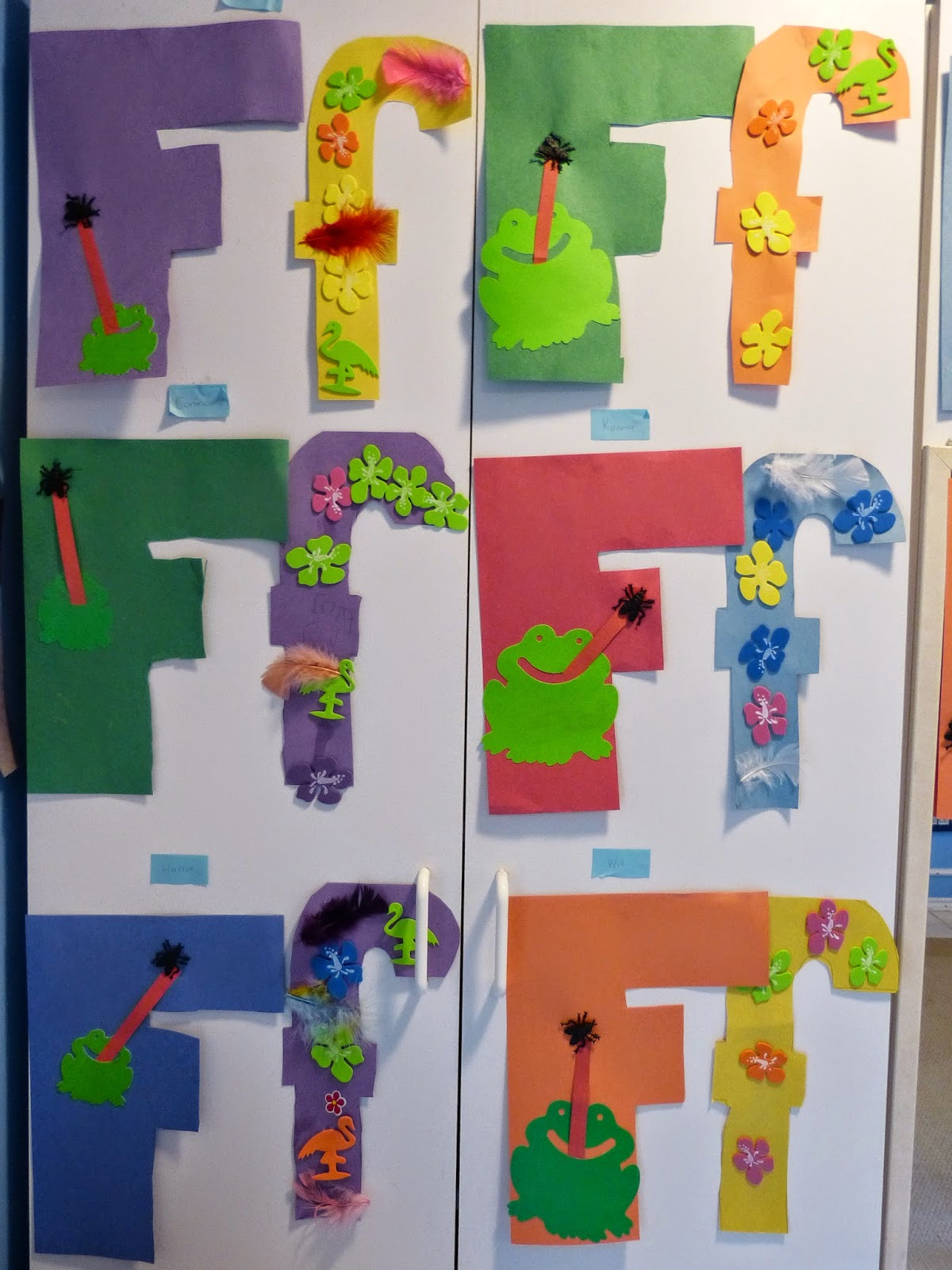 Paula S Primary Classroom Fabulous Fun For The Letter F