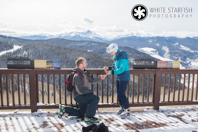 Vail Marriage Proposal Observation Deck