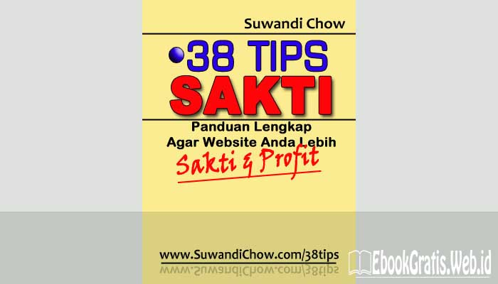 Ebook 38 Tips Sakti