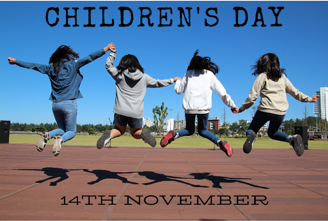 14th November is celebrated as Children's Day in India