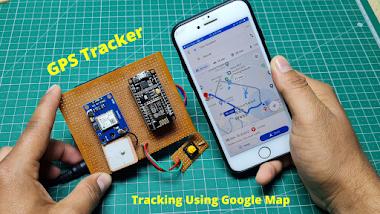 GPS Tracker Using Nodemcu