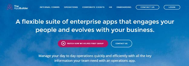 TheAppBuilder Best Platforms To Develop Mobile Apps