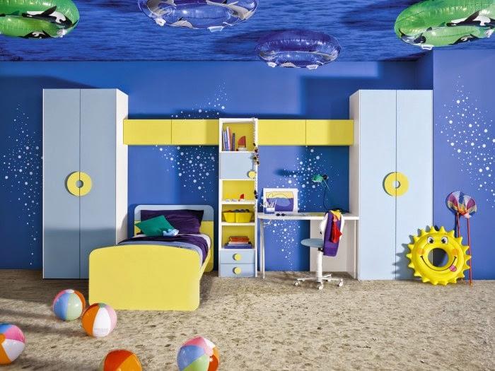 Cuartos divertidos para niños - Ideas para decorar dormitorios