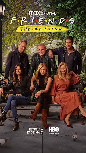 """""""FRIENDS: THE REUNION"""" ESTREIA DIA 27 DE MAIO, NA HBO PORTUGAL"""