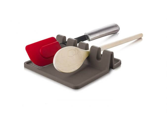 29 Life-Saving Kitchen Inventions We Wished We Had In Our Own House - Tomorrow's Kitchen Silicone Utensil Rest