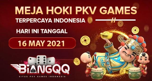 Berita Pkv Bocoran Meja Hoki Pkv Games BiangQQ Tanggal 16 May 2021