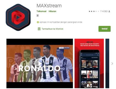aplikasi terbaik nonton bola online di android dan PC