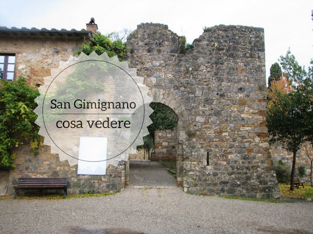 Cosa vedere a San Gimignano. Ingresso alla rocca