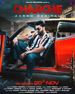 Charche Lyrics - Arsh Benipal and Afsana Khan - DjPunjabNew.Com