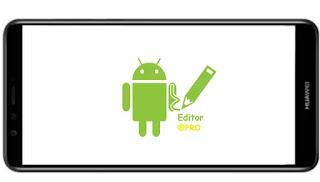 تنزيل برنامج اي بي كي برو APK Editor Pro Mod  مهكر 2021 مدفوع نسخة اصلية بالعربية بدون اعلانات بأخر اصدار من ميديا فاير للأندرويد.