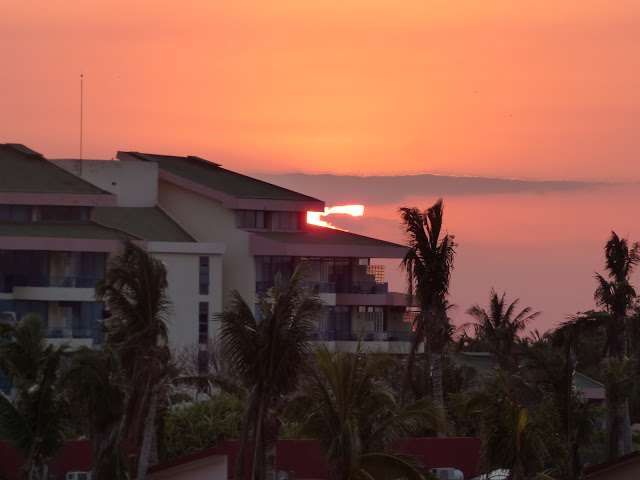 Sunset from the Iberostar Tainos hotel, Varadero, Cuba
